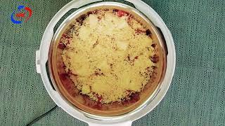 Картофель с мясом и ананасами в ARC–514D
