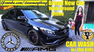 2019 Mercedes-Benz CLA250 Car Wash. AMG CLA45. Kids