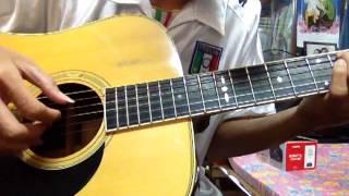 (Bích Phương) Ký Ức Ngủ Quên - guitar solo by me