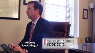 Joe King Alabama Personal Injury Attorney Morris, King and Hodge