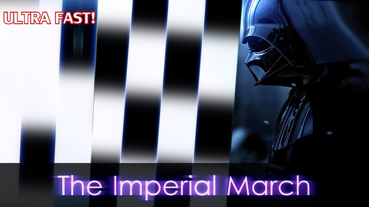 The Imperial March - Star Wars song in Piano Tiles 2! by Beeps