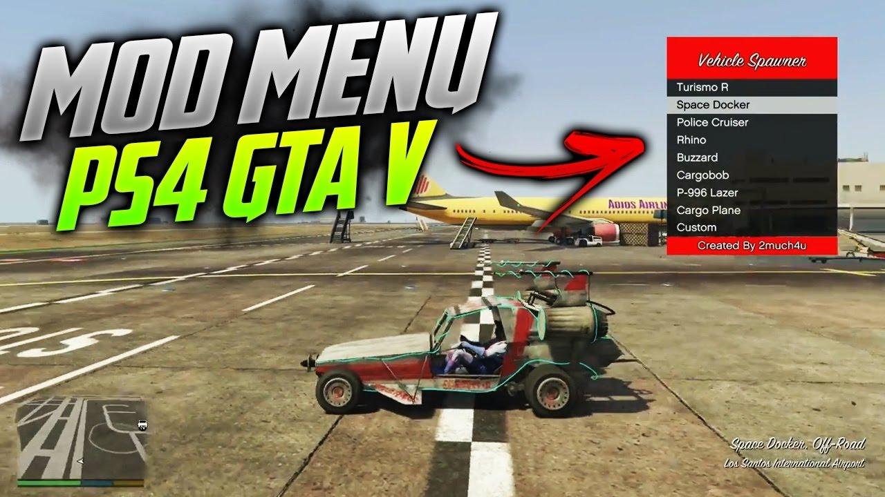 PS4 GTA V Mod Menu v1.0 [Release] - YouTube