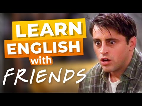 Fun English Lesson with Friends | Joey's Acting Class