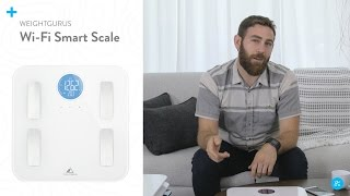 Weight Gurus Wi-Fi Smart Scale by Greater Goods