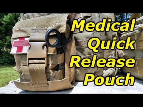BDS Tactical Gear Modular Medical Quick Release Pouch: Full Review