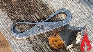 Blacksmithing - Forging a flint striker