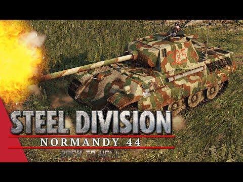 3rd APT Round 2! Steel Division: Normandy 44 - DuroSVK vs Tarsh IV (Colombelles, 1v1)