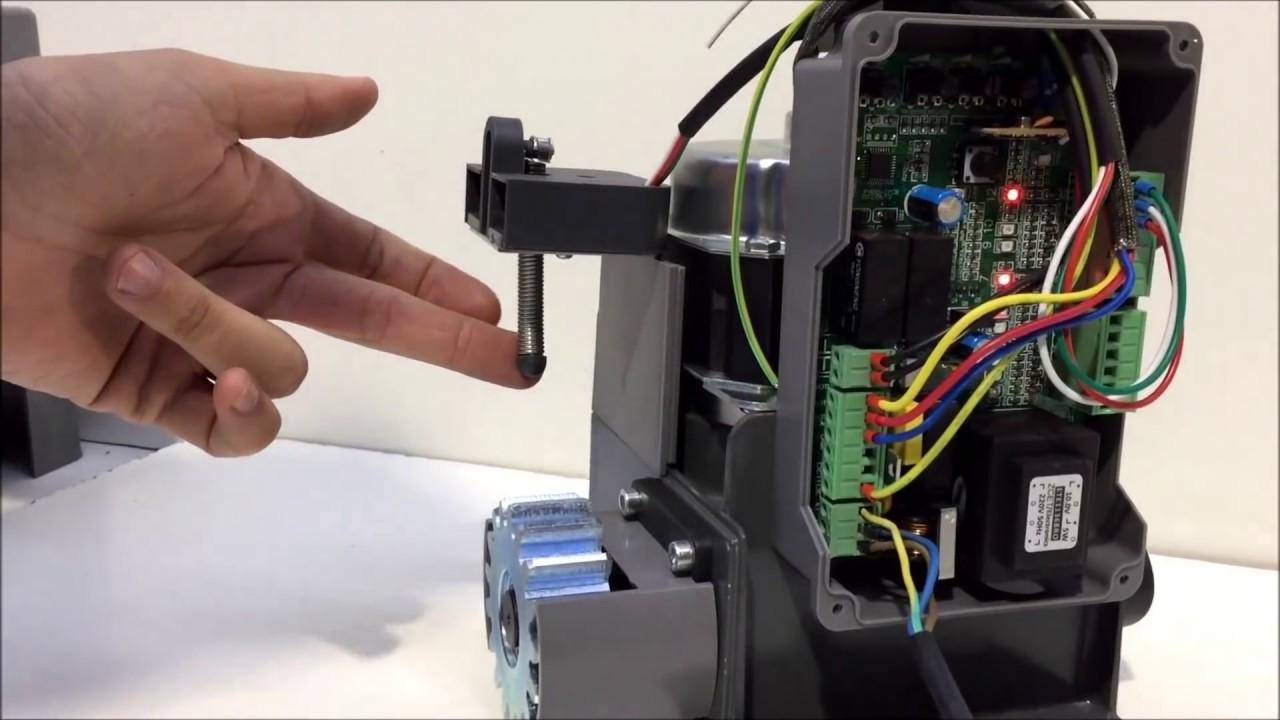 Como programar motor para puertas corredera scor600 youtube - Motores electricos para puertas correderas ...
