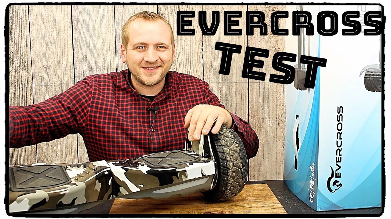 hoverboard evercross im test review deutsch 2018 youtube. Black Bedroom Furniture Sets. Home Design Ideas