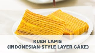 Kueh Lapis Indonesian Style Layer Cake