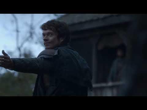 Game of Thrones/Best scene/Alfie Allen/Theon Greyjoy/Ralph Ineson/Donald Sumpter/Maester Luwin