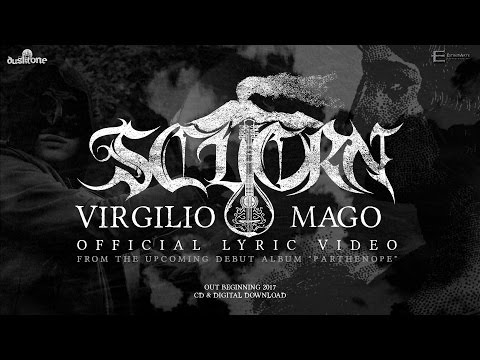 SCUORN - Virgilio Mago (OFFICIAL LYRIC VIDEO) - Parthenopean Epic Black Metal