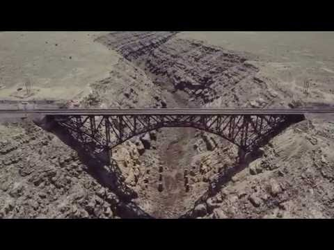 Canyon Diablo by Drone in 4K