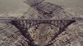 Canyon Diablo by Drone in 4K