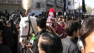 karachi  markazi  jaloos ashura 28 - 12 - 2006.wmv