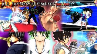 Sunday VS Magazine: Shuuketsu! Choujou Daikessen! All Character Intros & Ultimates
