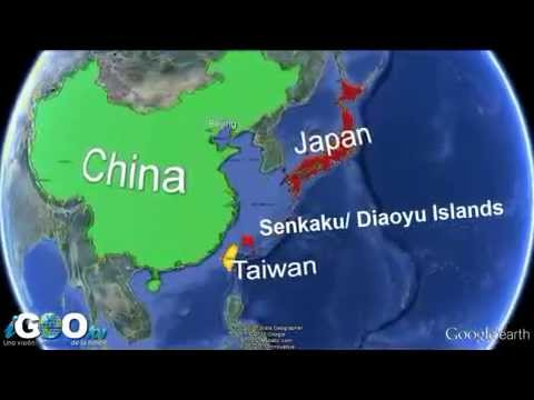 china,japan,taiwan territorial dispute-senkaku/Diaoyu islands