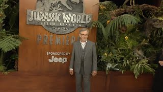Steven Spielberg, Chris Pratt, Bryce Dallas Howard and more at Jurassic World : Fallen Kingdom World