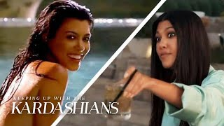 "Kourtney Kardashian's Walk Down Memory Lane on ""KUWTK"" | KUWTK"