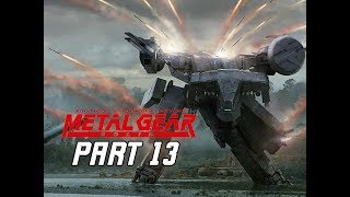 METAL GEAR SOLID Gameplay Walkthrough Part 13 - Metal Gear Rex (RETRO PSX Classic)