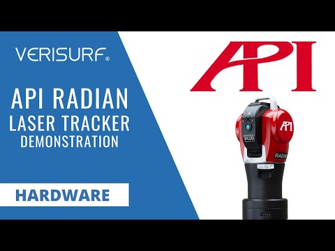 API Radian Laser Tracker Demonstration