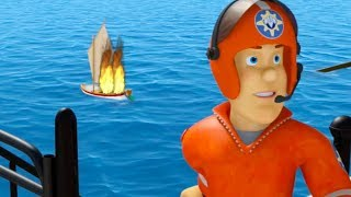 Fireman Sam US New Episodes | Castle in the air - Season 10 Best Saves 🚒 🔥 Cartoons for Children