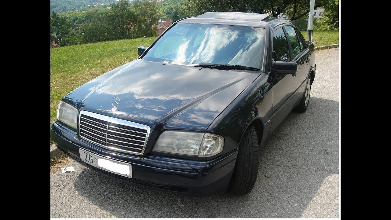 hight resolution of mercedes c klasa 1995 220 diesel automatik na prodaju mercedes c class w202 on sale