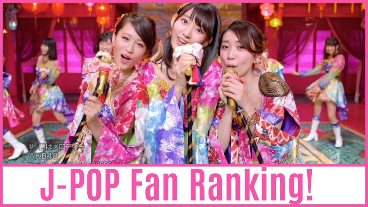 J-POP Girl Group Fan Ranking! (2016) - YouTube