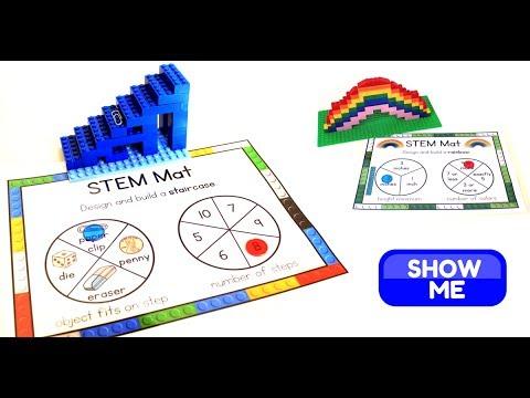 Easy Stem Activities For 1st Grade Stem Mats Youtube
