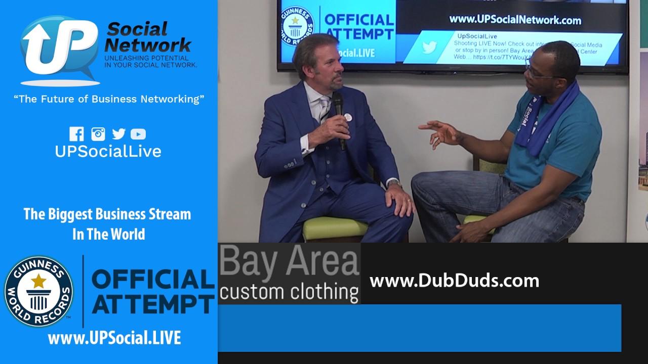 Bay Area Custom Clothing Helps Up Social Network Break A