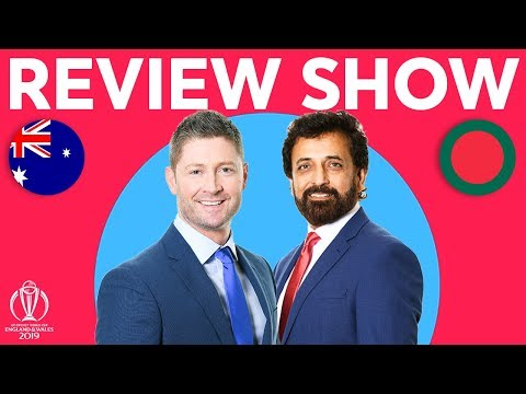 The Review - Australia Vs Bangladesh | With Exclusive Finch Interview! | ICC Cricket World Cup 2019