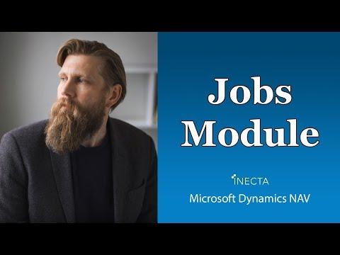 Dynamics NAV 2017: Jobs Module