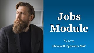 58 - Working with the jobs module in Microsoft Dynamics NAV 2017