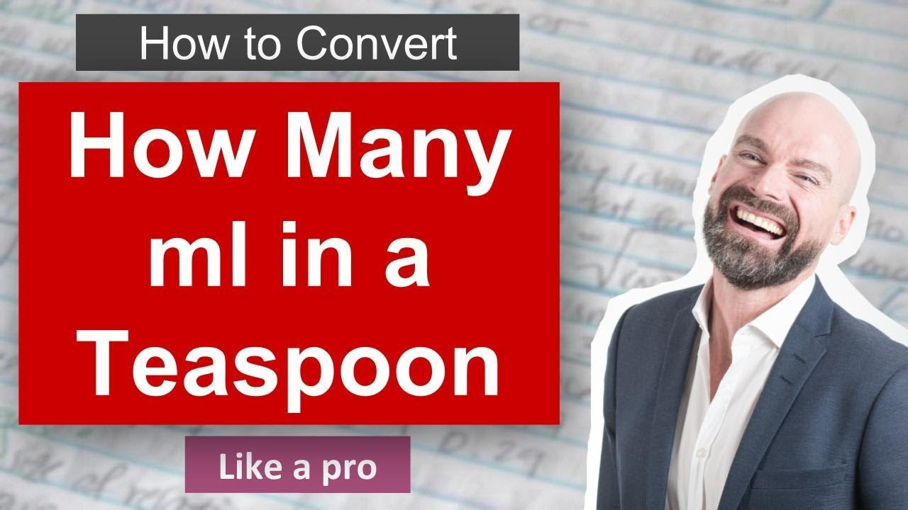 How Many ml In A Teaspoon. How Convert