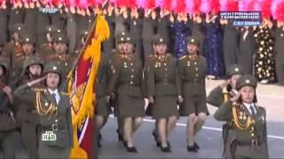 Парад в Северной Корее