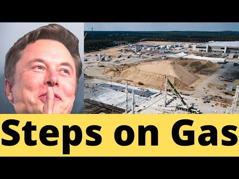 Elon Musk JUST Stepped on The Gas, Wanting More for Giga Berlin's Battery Plant