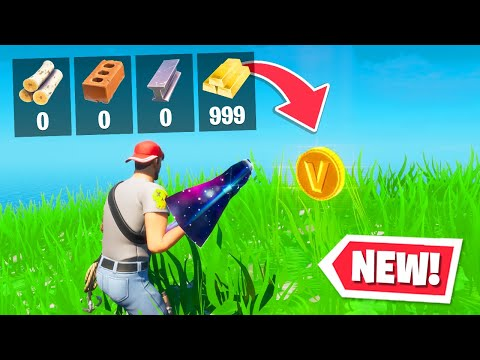 *NEW* GOLD material FOUND in Fortnite! (Chapter 2 Season 2)