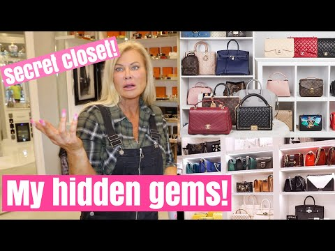 The things in my closet I don't show!!