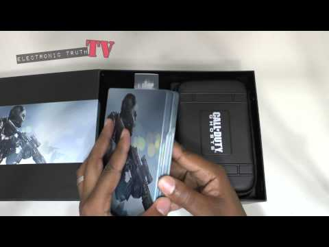 Call Of Duty Ghosts Prestige Edition Unboxing PS4