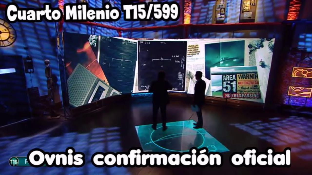 Ovnis CONFIRMACION OFICIAL | CUARTO MILENIO Temporada 15/05 (PODCAST)