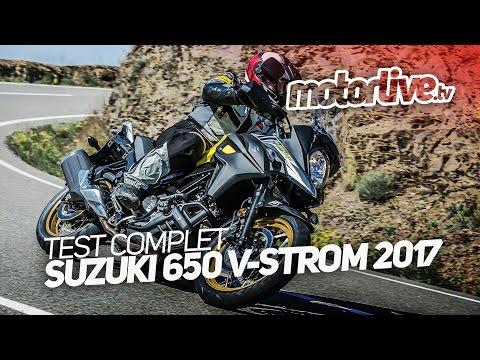 SUZUKI 650 V-STROM 2017    TEST COMPLET