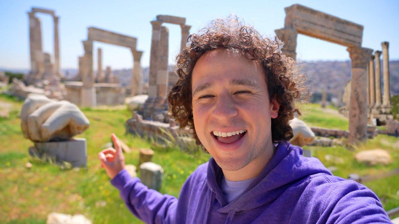 Visité el templo REAL de HÉRCULES | Jordania 🇯🇴