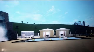 Backyard Allure/Backyard Ideas | Roblox Bloxburg Speedbuild | Tropical Tuesday