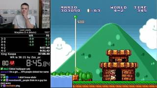 (37:02) Super Mario Bros.: The Lost Levels Warpless D-4 speedrun