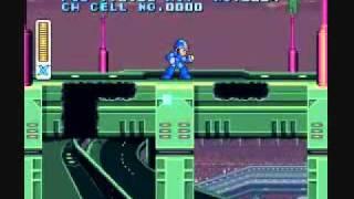 Mega Man X - Unused Map Editor