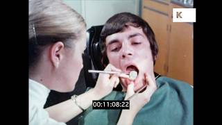 1970s Dentist, Man with Gum Disease | Kinolibrary
