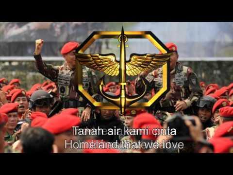 Indonesia National Forces Song - Hymne Kopassus (Kopassus Hymn)