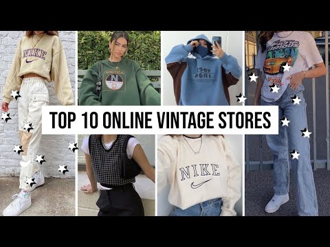 BEST PLACES TO BUY VINTAGE CLOTHING ONLINE 2020