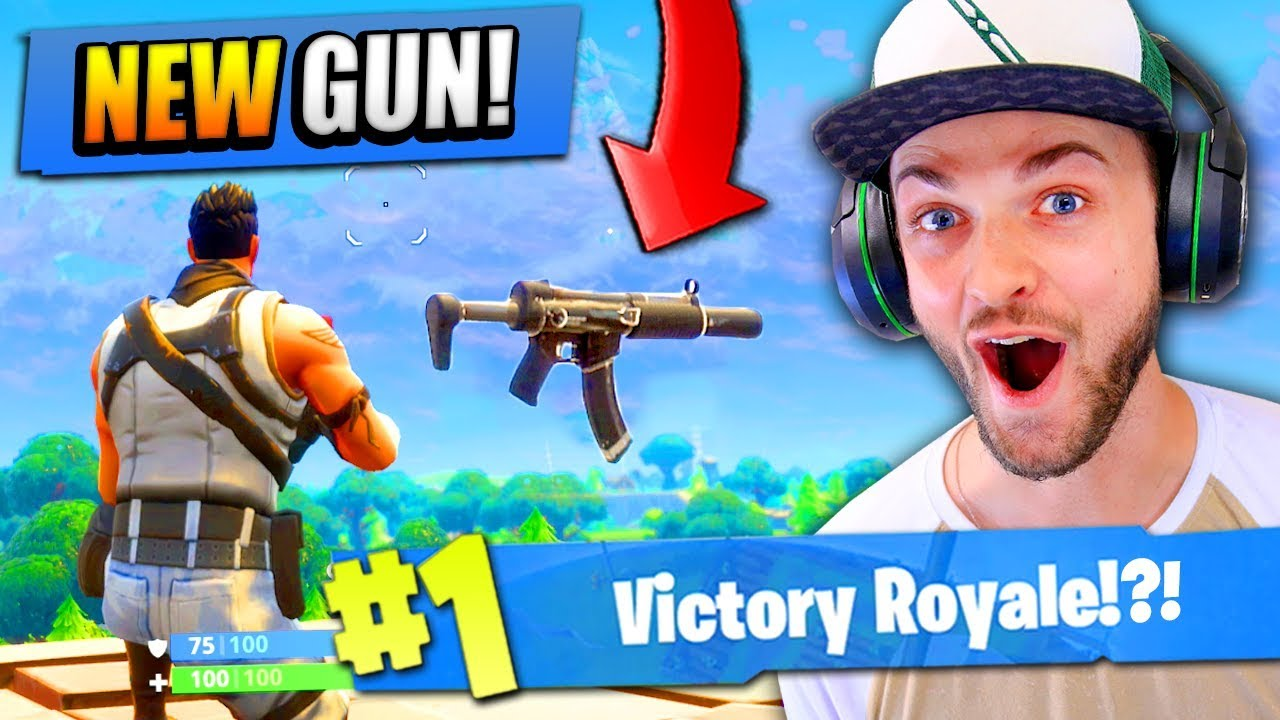 Using The New Gun In Fortnite Battle Royale Clip Fail