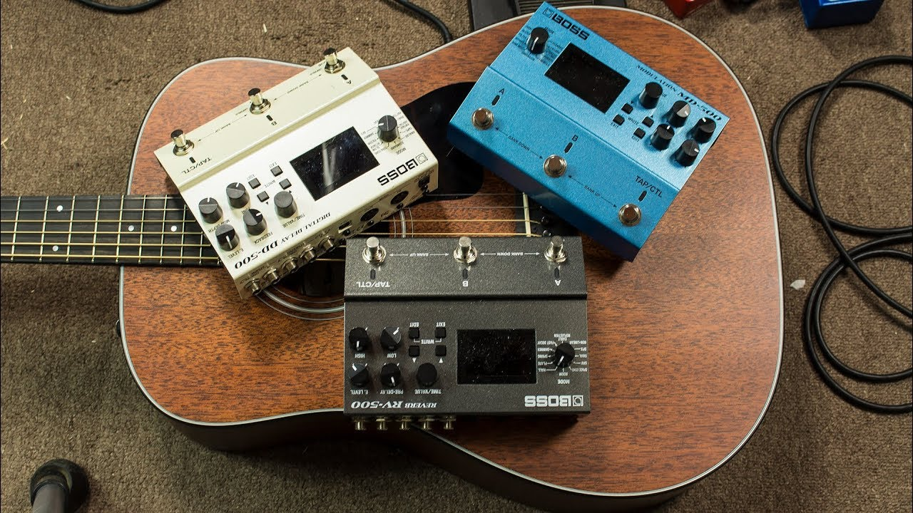 3 boss pedals luscious ambient guitar tone youtube. Black Bedroom Furniture Sets. Home Design Ideas